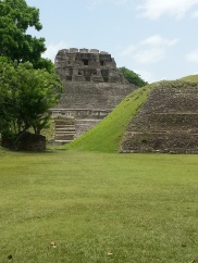 View from the ground - Xunantunich