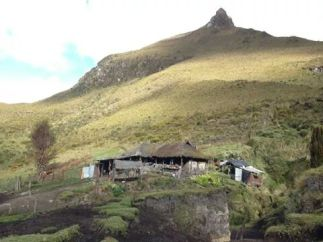 A home and farm 4000 meters up. Credit: Estaban