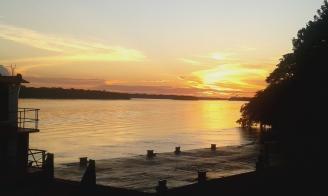 Stunning sunsets in Pantoja.