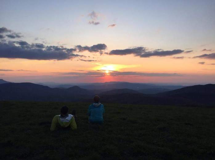 On top of Max Patch