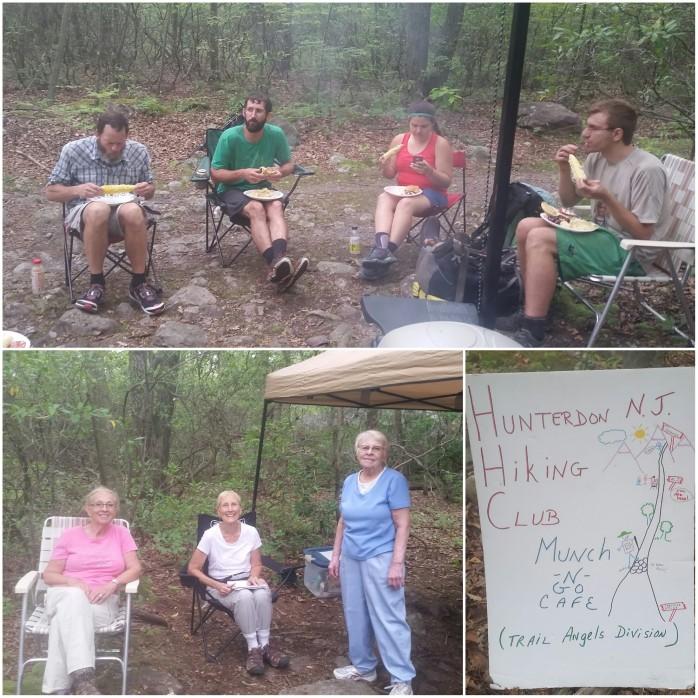 Thanks ladies for the amazing trail magic!!!