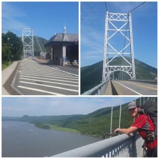 Crossing the Hudson!