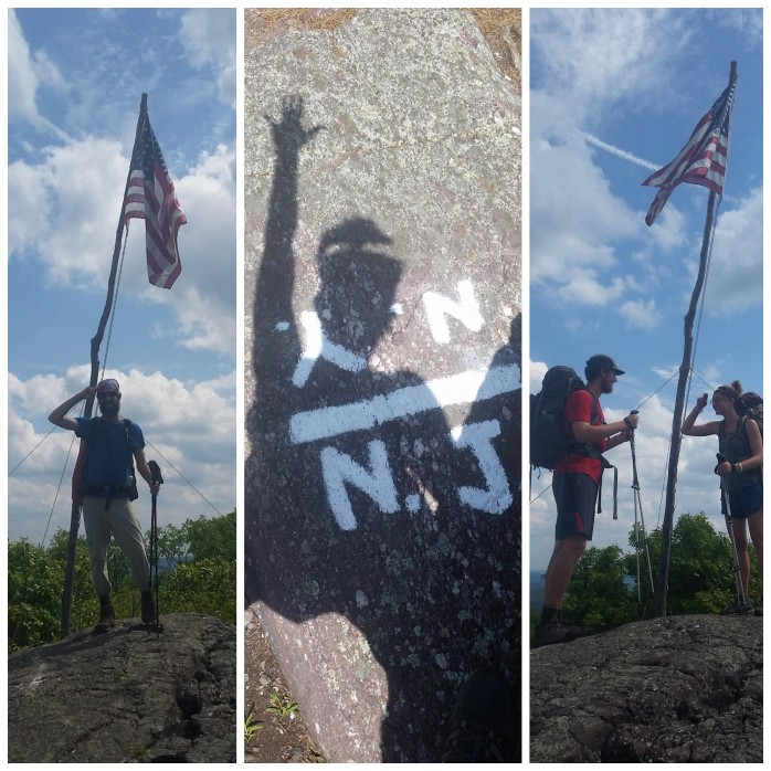 Quickly in the highest point in New York on the AT