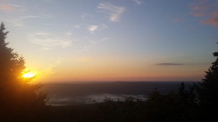 Sunrise over Greylock