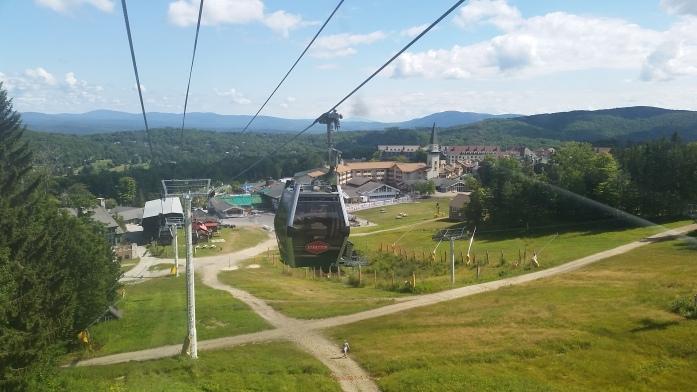 Gondola ride vs. re-hiking the mountain? Gondola ride.