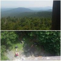 Views from the firetower