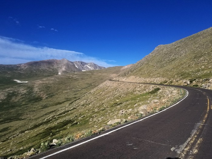 Cycling Mount Evans