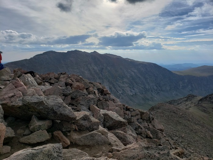 Mount Evans from Mount Bierstadt