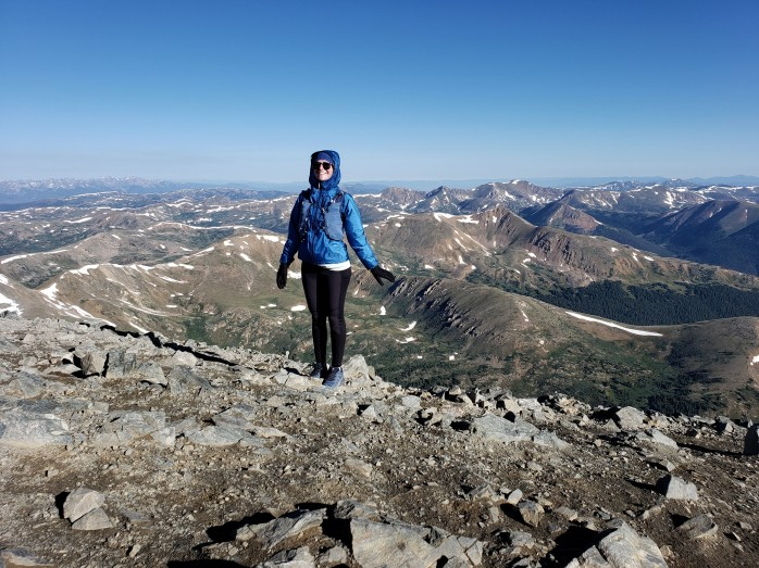 Summit of Torreys Peak - 14,267 ft