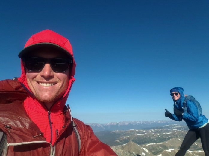 Summit of Torreys Peak