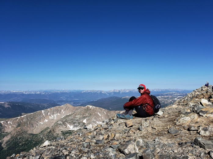 Grays Peak Summit - 14,270 ft