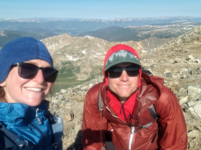 Summit of Grays Peak