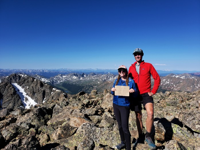 Mount of the Holy Cross Summit - 14,005 ft.