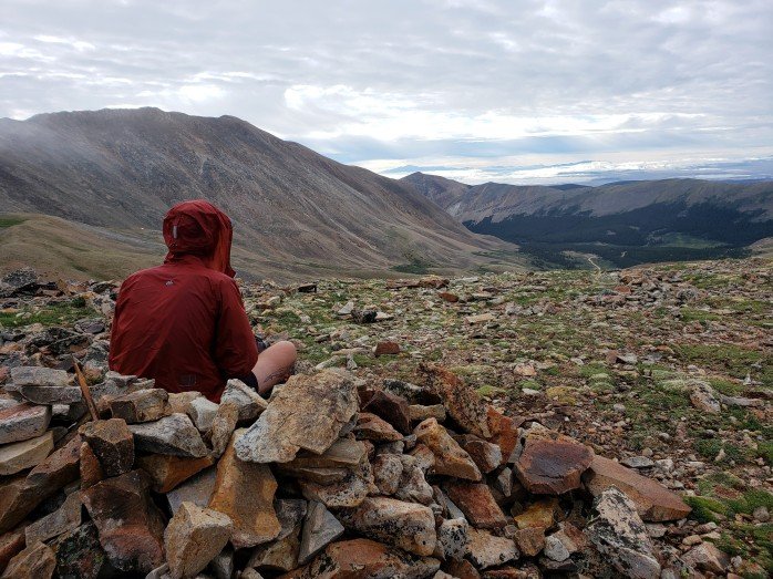 Views from Mount Sherman saddle