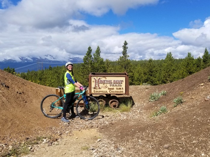 Mineral Belt Trail Leadville, CO
