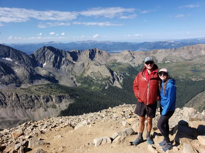 Huron Peak Summit - 14,003 ft.