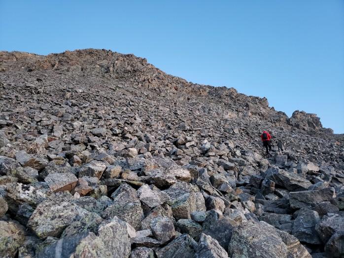 Climbing Missouri Mountain