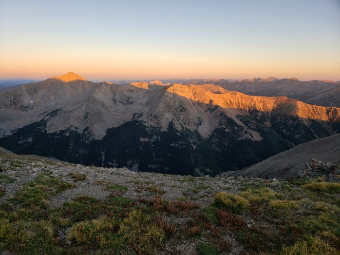 Sunrise from Missouri Mountain