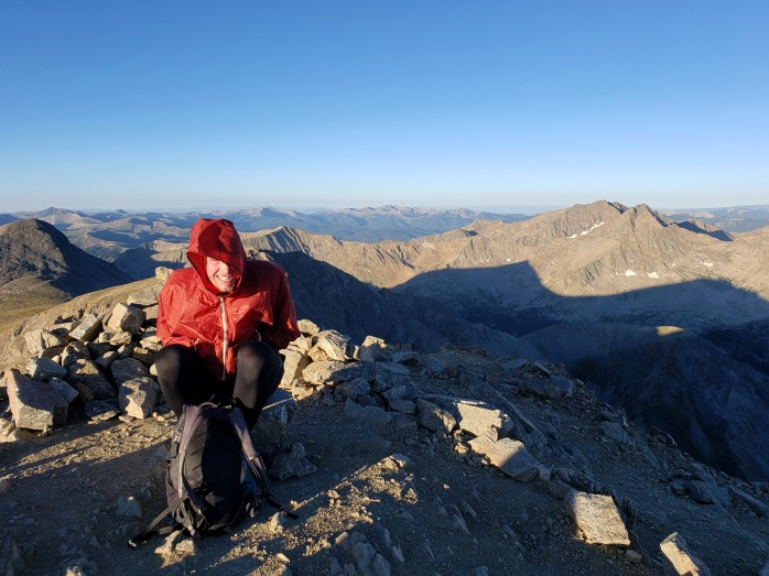 Windy summits aren't that fun, Missouri Mountain